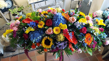 Funeral Flowers arrangements Stratford upon Avon